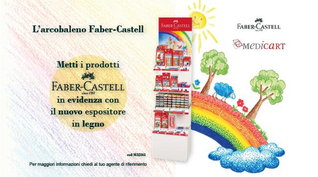 Espositore Fabre-Castell in Legno