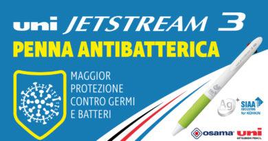 UNI JETSTREAM 3 – Antibatterica
